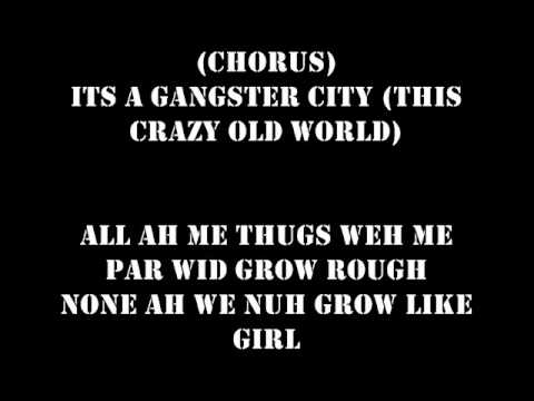 Popcaan - Gangster City (LYRICS) (Follow @DancehallLyrics )