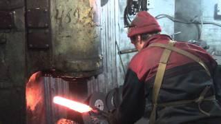 Как куется дамасская сталь - кузница Алексея Бессонова