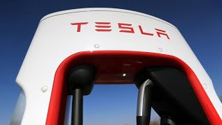 Tesla beats on top and bottom lines, stock is up in after hours trading