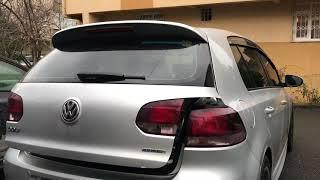 Volkswagen Golf 6 Orjinal Bagaj Amortisörü İle otomatik Açma Testi