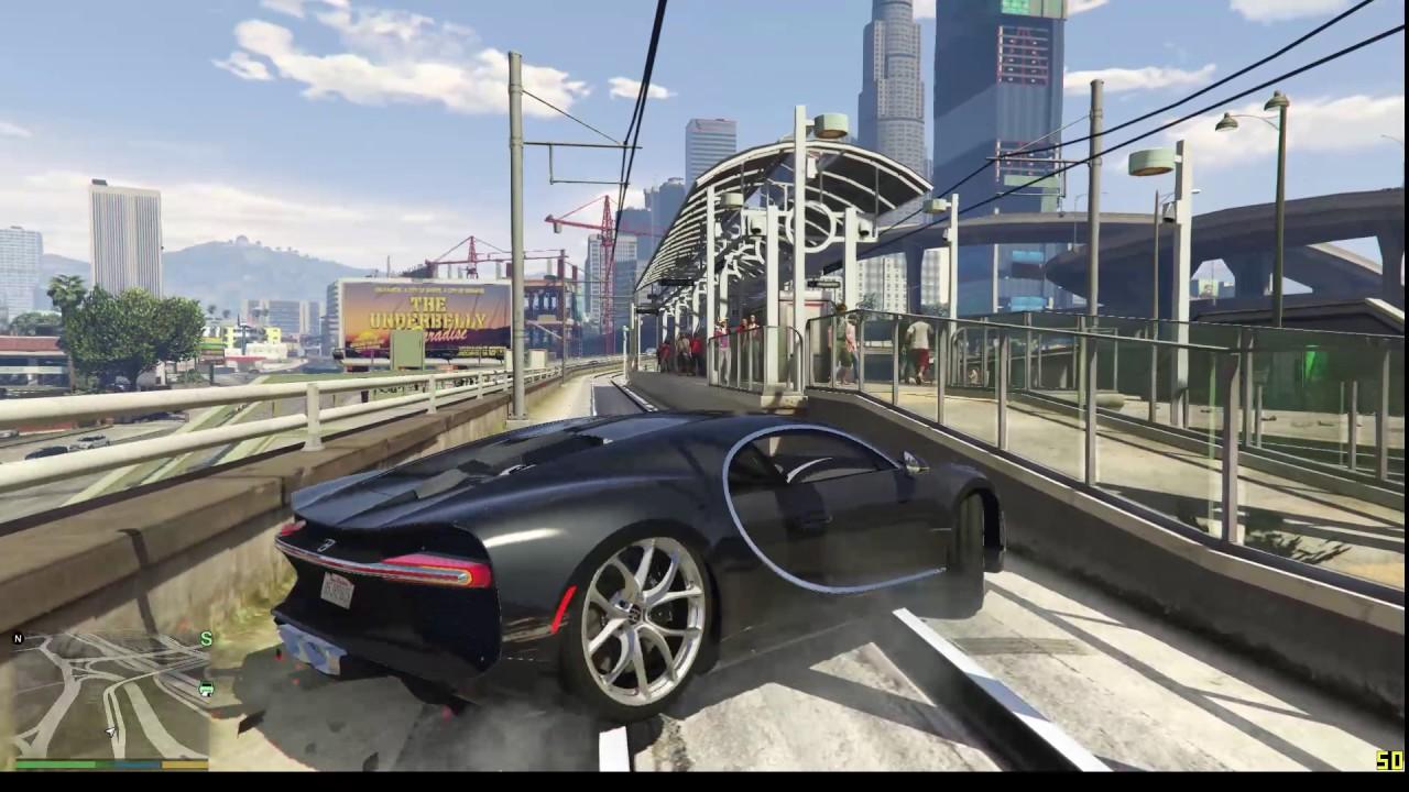 Grand Theft Auto V - 2017 Bugatti Chiron Test Drive ...