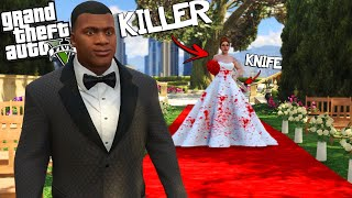FRANKLIN gets MARRIED to a MURDERER in GTA 5