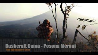 Bushcraft Camp - Pesona Merapi, shelter, cooking, ammostove