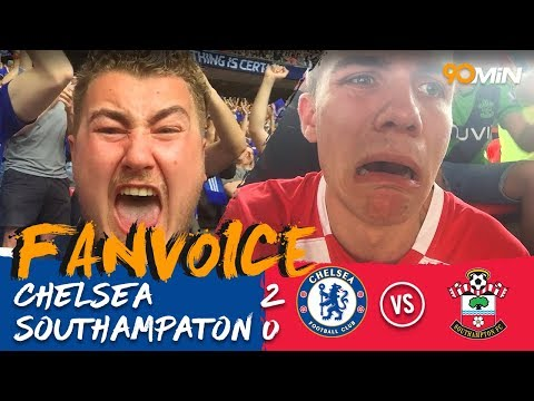 Giroud and Morata put Chelsea in FA Cup Final! | Chelsea 2-0 Southampton | 90min Fanvoice