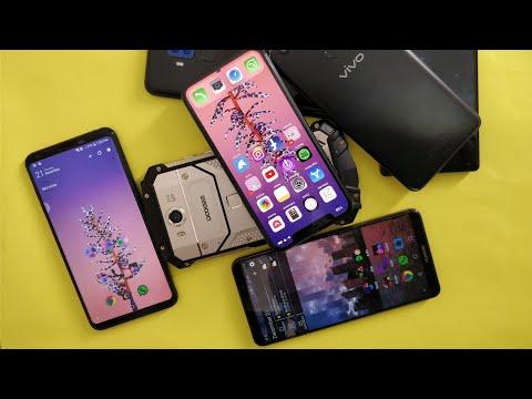 My Top Five Smartphones Of 2017