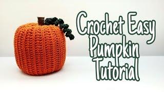 How To Crochet An Easy Pumpkin | Easy 3D Pumpkin Decor | Bagoday Crochet Free Tutorial #632