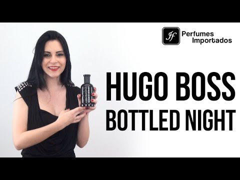 Perfume Hugo Boss Bottled Night Masculino Eau De Toilette Youtube