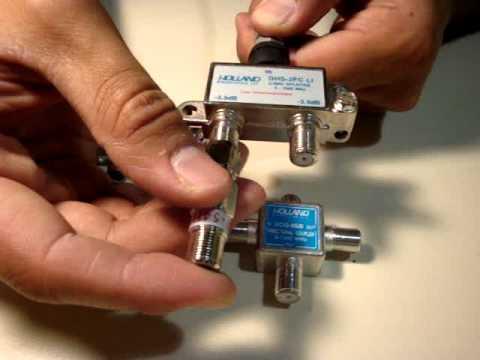 Instalacion Derivador de TV Holland Todoconectores