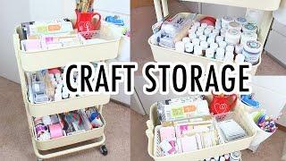 Ikea Raskog Cart | Craft Storage