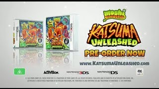 OFFICIAL KATSUMA UNLEASHED TRAILER AUS - AVAILABLE ON NINTENDO DS / 3DS  - PRE-ORDER NOW!