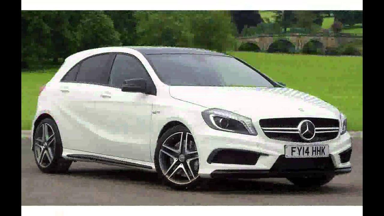 Mercedes a class hatchback a45 amg 4 matic new 2015 youtube for Mercedes benz hatchback models