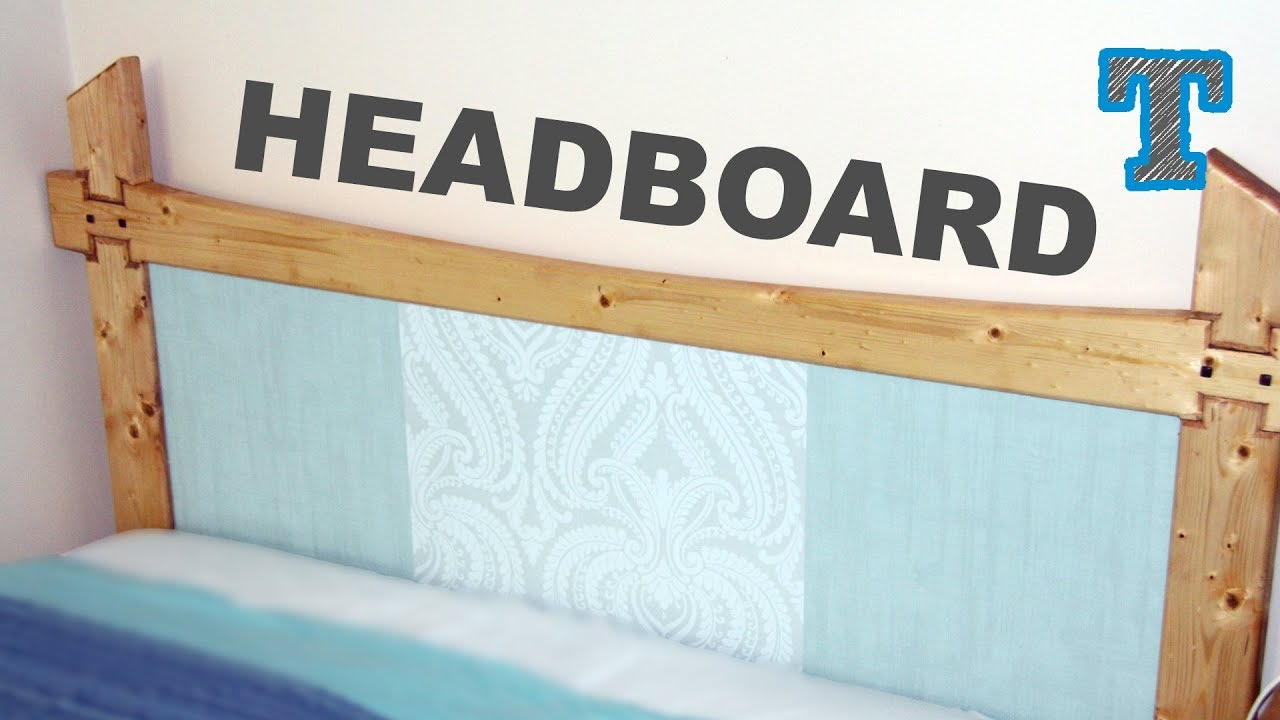 Bed Build: Decorating the Headboard | Craft Project