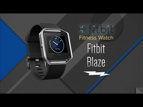 Fitbit Blaze Fitness Watch FB502SBKL - Overview and Features