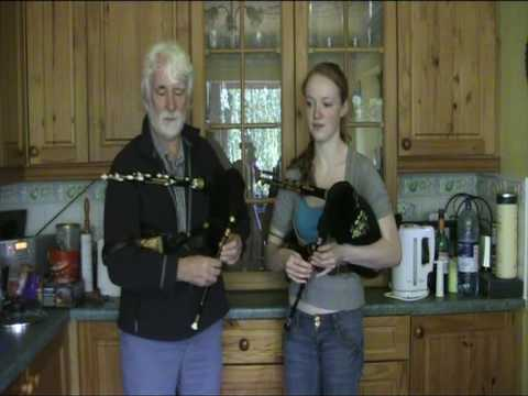 Northumbrian Pipes - (Lament for) Ian Dickson