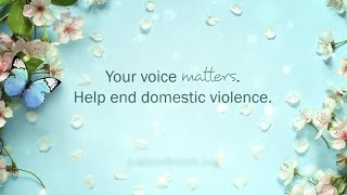 Join The FightAgainst Domestic Violence