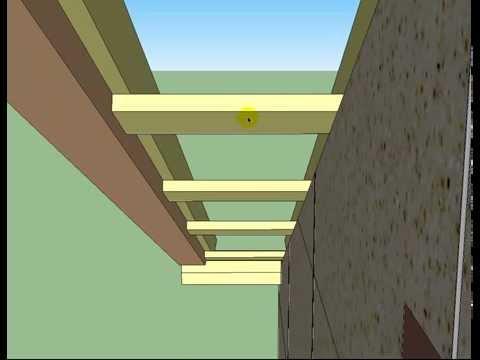 видео: Как построить дом своими руками и сделать крышу