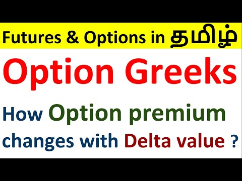 Option Greeks in Tamil   Understanding option Delta   Futures & Option in tamil   F&O EP-09
