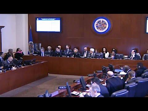 Organization of American States considers punishing Venezuela's socialist government