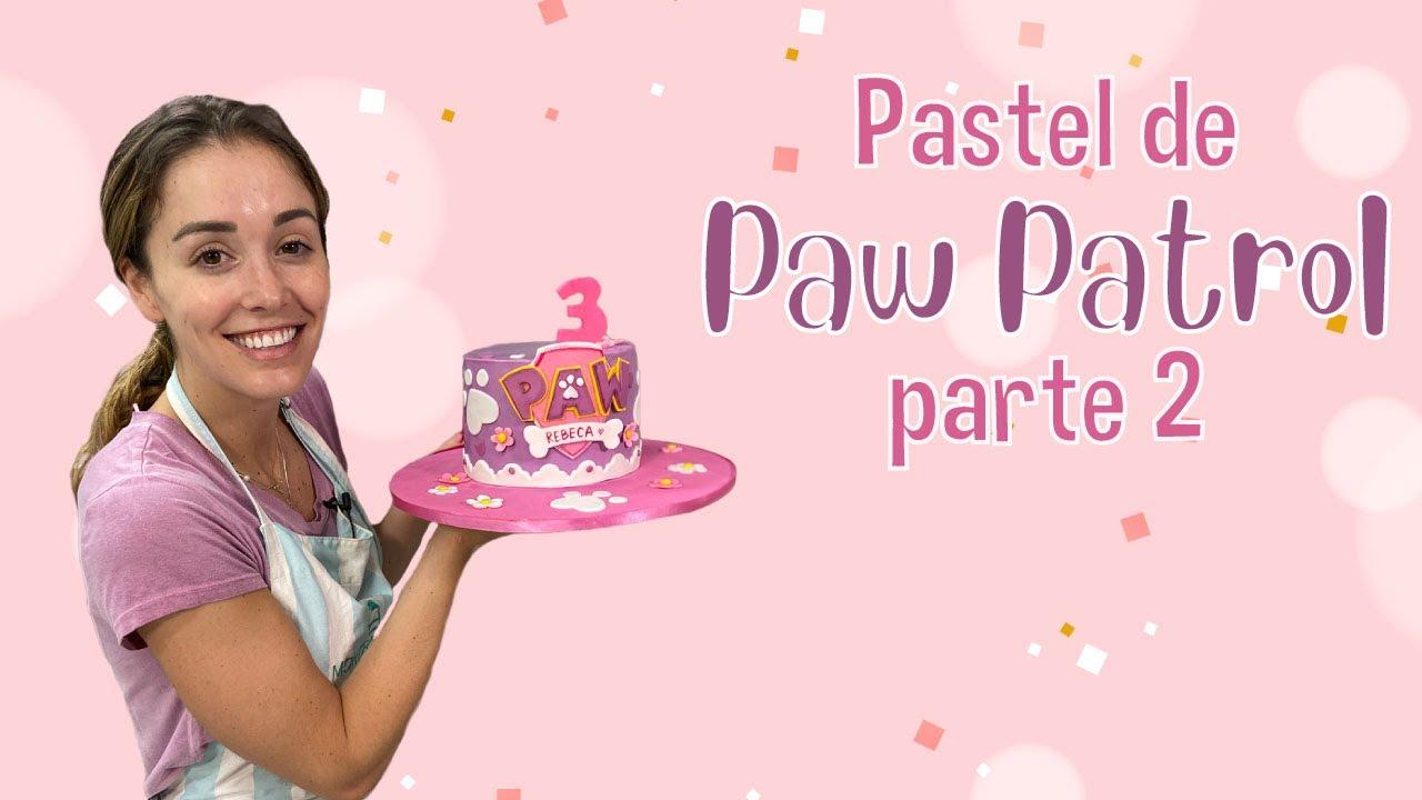 Pastel de Paw Patrol parte 2