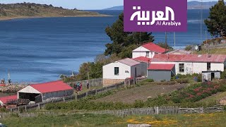 السياحة عبر العربية  Haberton أول مستعمرة أوروبية أقيمت في أ