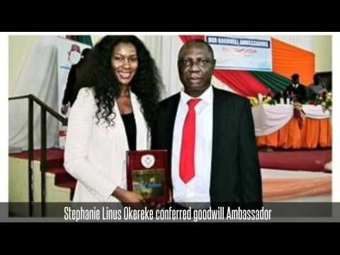 Stephanie Linus Okereke conferred goodwill Ambassador