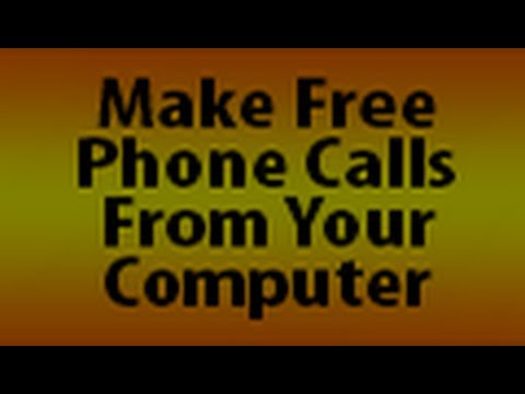Free Computer to phone calling