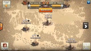 Clash of Clans | PUB WAR RECAP #239 | Past Used By vs. Game of Trones