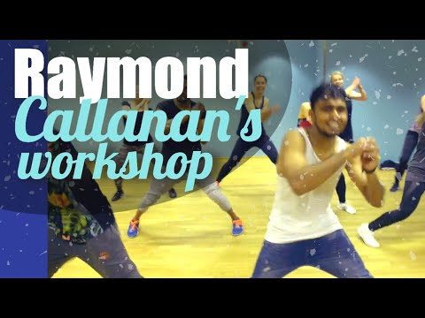 Raymond Callanan's Workshop at Indian Dance Festival