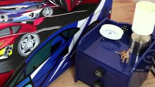 Night Racer Car Bed (blue) - Sweet Dreams