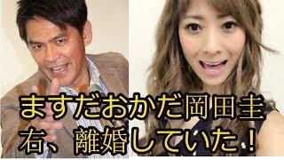 Japan News: ますだおかだ岡田圭右、離婚していた!昨秋から別居、結実...