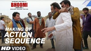 Making of Bhoomi: Action Sequence | Sanjay Dutt, Aditi Rao Hydari
