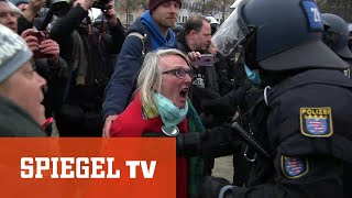 Querdenker-Demo: Eskalation in Kassel