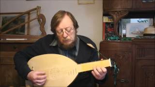 Franciscus Bossinensis - Ricercar X - Lute - Luth