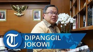 Bambang Brodjonegoro Datang ke Istana Kepresidenan, Melanjutkan Urusan Pemindahan Ibu Kota?