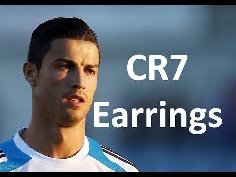 Cristiano Ronaldo earrings