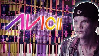 Synthesia: Avicii - Wake Me  Up | 230,000+ Notes! | Black  MIDI