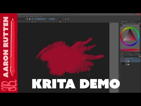 Krita Review Digital Art Software Digital Art Vlog Youtube