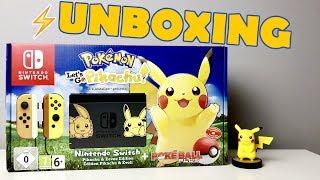 ✂️ UNBOXING - Nowy Nintendo Switch Pikachu & Eevee Edition + Poke Ball Plus