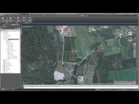 Using 3ds Max Design With Civil 3D - Part 05 - Creating A Geolocated Surface