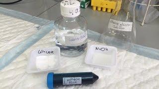 Methylene Blue oxidation experiment