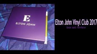 Elton John Vinyl Club 2017 10 LP box set review