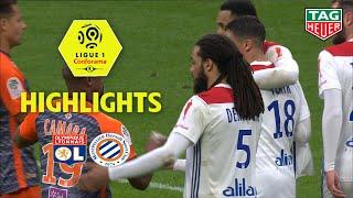 Olympique Lyonnais - Montpellier Hérault SC ( 3-2 ) - Highlights - (OL - MHSC) / 2018-19