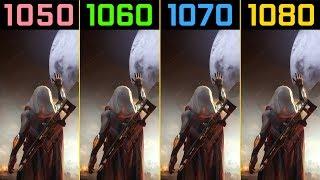 Destiny 2 GTX 1050 Ti vs. GTX 1060 vs. GTX 1070 vs. GTX 1080 Beta