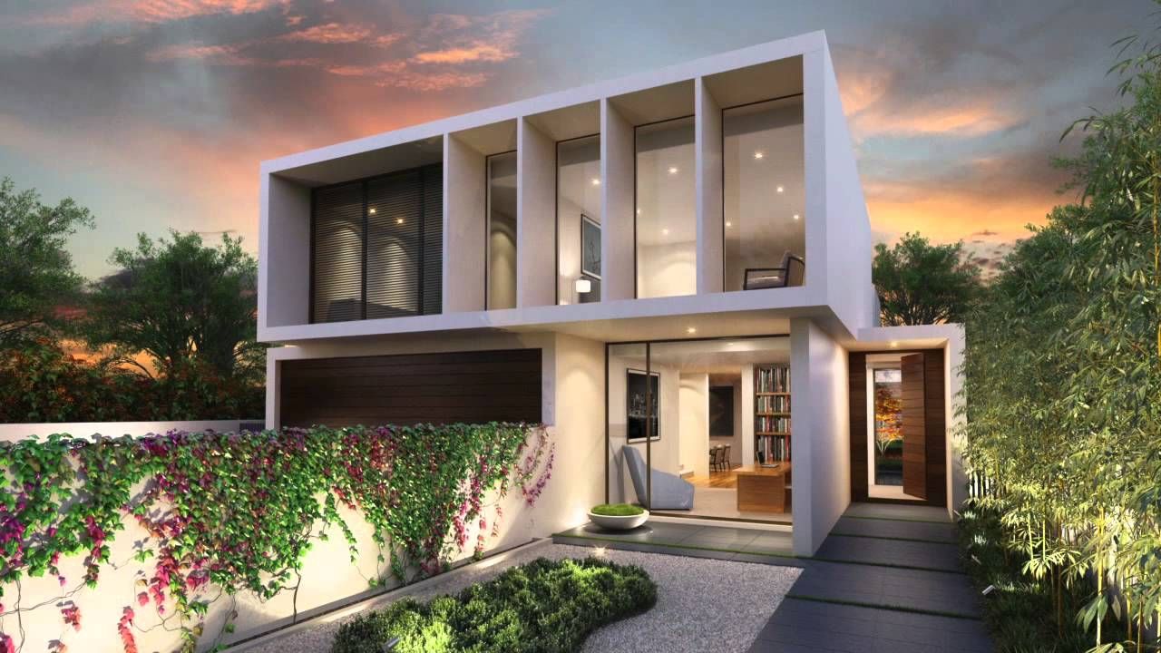 Lubelso by Canny - architecturally designed homes Melbourne - YouTube