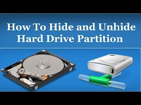how to hide a drive on windows 10