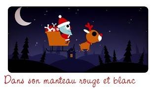 DANS SON MANTEAU ROUGE ET BLANC (petit garçon...) berceuse de Noël
