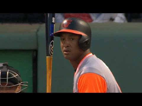 8/25/17: Orioles score 16 runs against the Red Sox