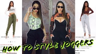 JOGGERS | HOW TΟ STYLE | DIFFERENT LOOKS 2021