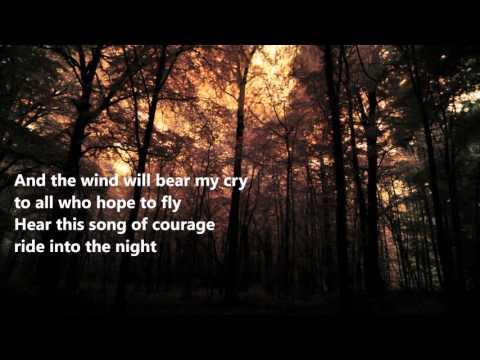 Manowar - Courage (lyrics on screen)