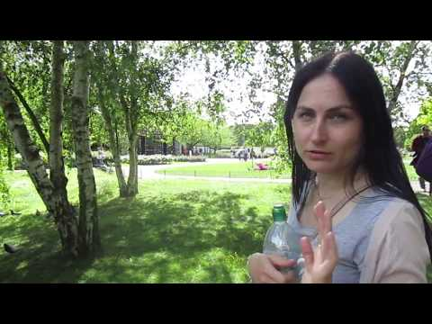 What to do in London - Regent's Park - Part 6 - Queen Mary's Gardens - Black Swans!